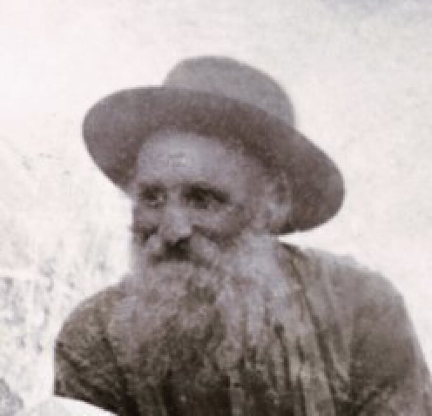 Edwin Ware in the 1920s. Photo courtesy the Edwin Ware family