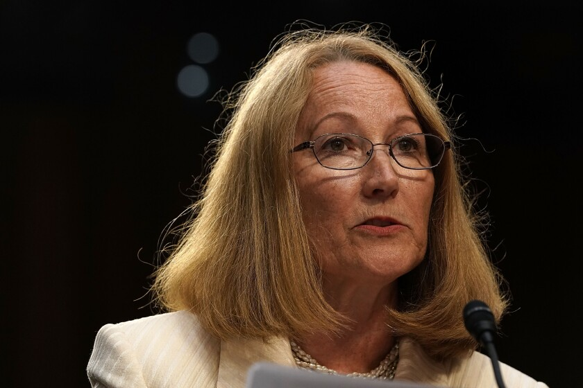 USOPC Chairwoman Susanne Lyons says the U.S. Olympic Committee wants to make sure the focus is on athletes, not medals.