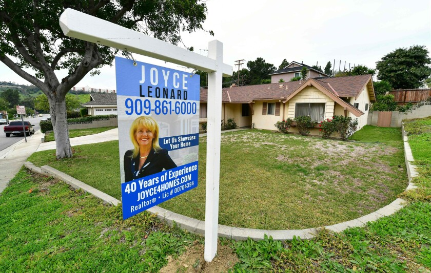 Southern California home prices