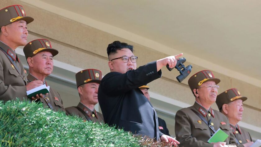 North Korean leader Kim Jong Un boasted in January that the country was making significant progress in its efforts to launch intercontinental ballistic missiles capable of striking American targets in the Pacific.