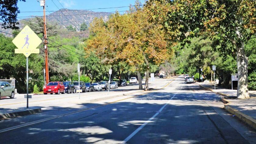 Gould Avenue in La Cañada Flintridge