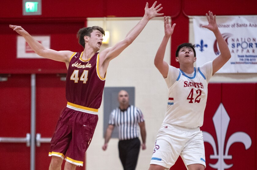 Estancia, Laguna, Fountain Valley and Brethren Christian earn top-four seeds in CIF boys' basketball playoffs