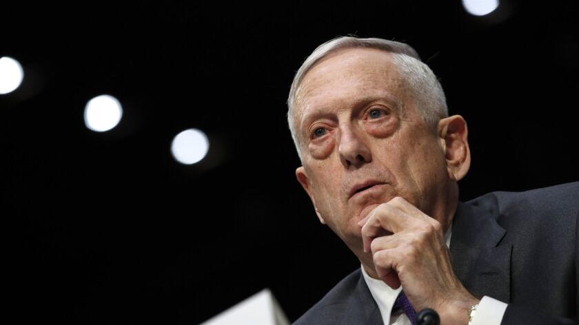 """Defense Secretary James N. Mattis suggested at a security conference in Bahrain on Saturday that the killing of Saudi journalist Jamal Khashoggi """"undermines regional stability"""" in the Middle East."""