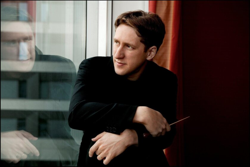 Joshua Weilerstein is one of eight guest conductors performing with the symphony before the departure of music director Jahja Ling.
