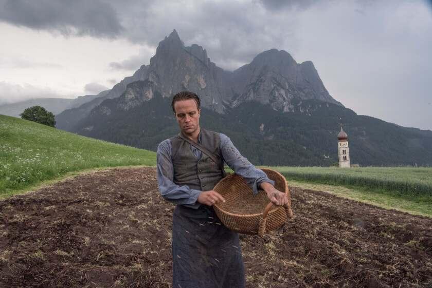 August Diehl in the movie 'A Hidden Life'