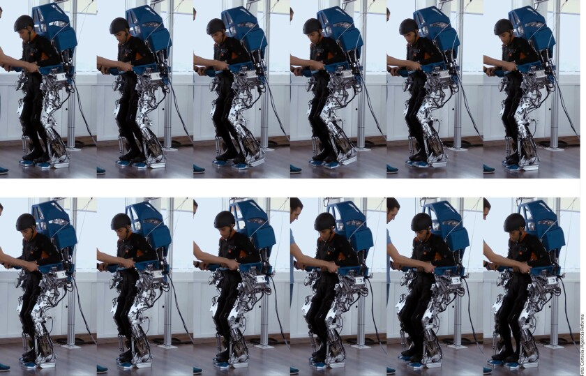 Una máquina con una interfaz robot-humano probó dotar nuevamente de sensibilidad en las piernas a ocho personas parapléjicas.
