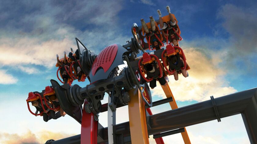 The Total Mayhem 4-D coaster is coming to New Jersey's Six Flags Great Adventure in 2016.