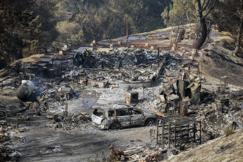 State of Emergency issued for Sand fire
