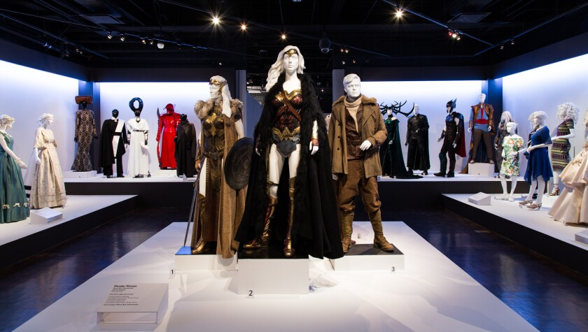 "A view of FIDM's 26th ""Art of Motion Picture Costume Design"" exhibition, which is free and open to the public through April 7."