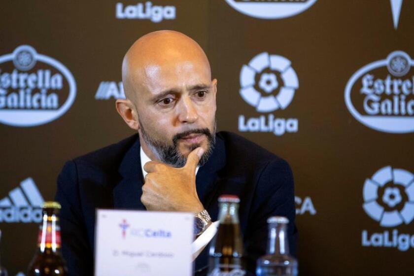 El entrenador portugués Miguel Cardoso. EFE/Archivo