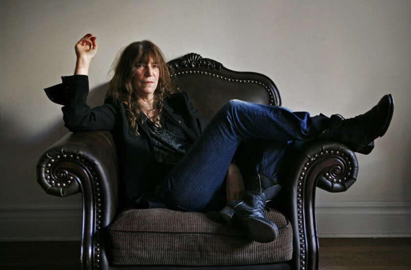 """Patti Smith's memoir """"Just Kids,"""" about her early days in New York City with photographer Robert Mapplethorpe, will be made into a miniseries by Showtime."""