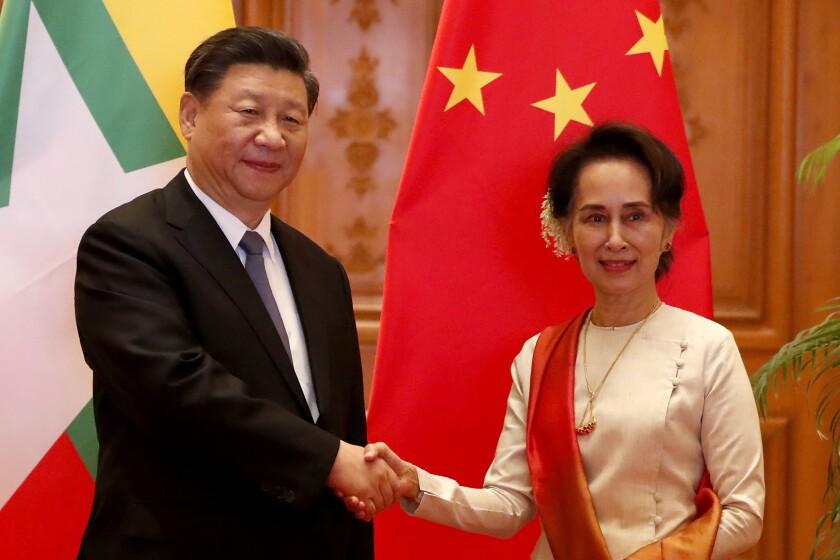 Myanmar China