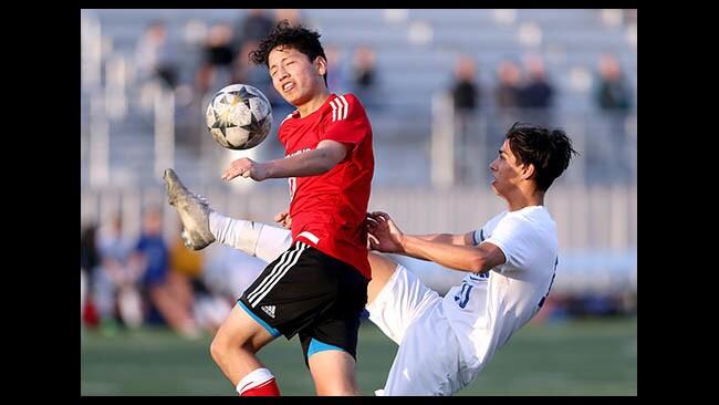 Photo Gallery: Burroughs High boys soccer hosts Burbank