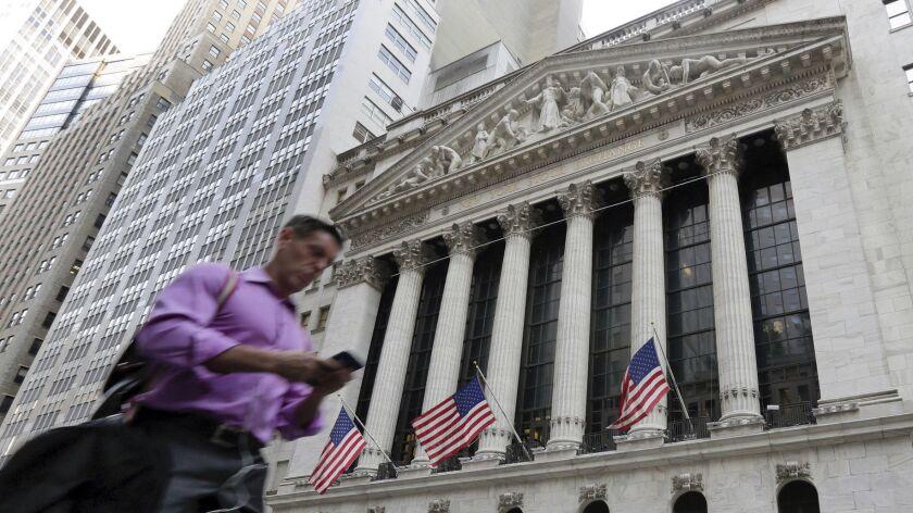 The New York Stock Exchange in June 2016.