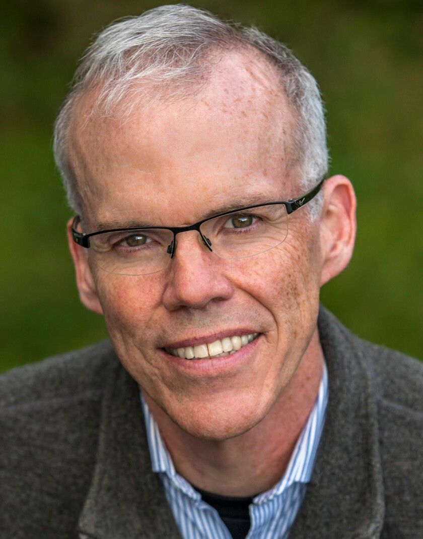 """Author and environmental activist Bill McKibben for his book """"Falter: Has the Human Game Begun to Pl"""