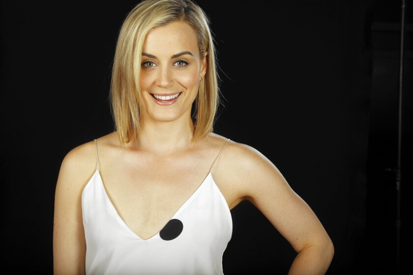 """Taylor Schilling, star of """"Orange Is the New Black,"""" says she doesn't eat a restrictive diet but does try to keep things balanced."""