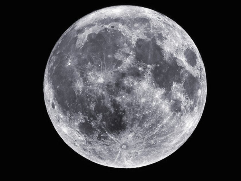 Look for the supermoon this weekend -- the biggest full moon of the year.