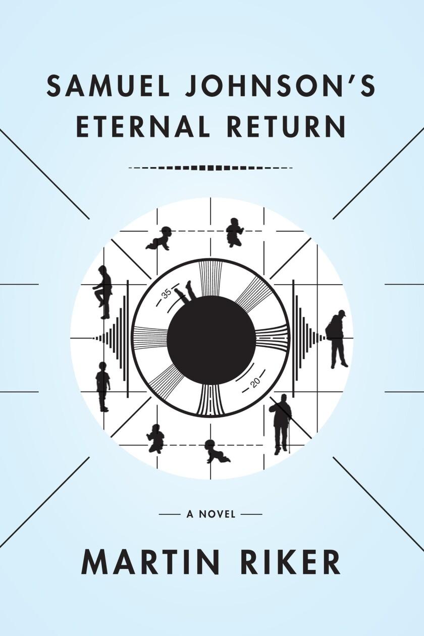 Book jacket for 'Samuel Johnson's Eternal Return' by Martin Riker.