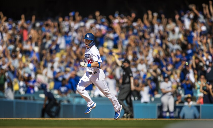 Dodgers regular catcher will serve as the Dodgers designated hitter in Game 2 of the NLDS against the Padres.