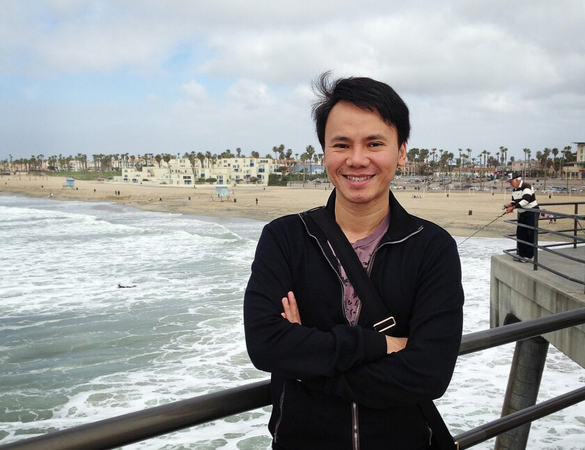 Pacific Symphony composer-in-residence Narong Prangcharoen has been commissioned to write a new anthem for Orange County.