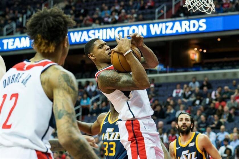 Bradley Beal anotó 21 puntos, incluido un triple casi al concluir el partido, y los Wizards de Washington vencieron 104-107 a los Bucks de Milwaukee. EFE/Archivo