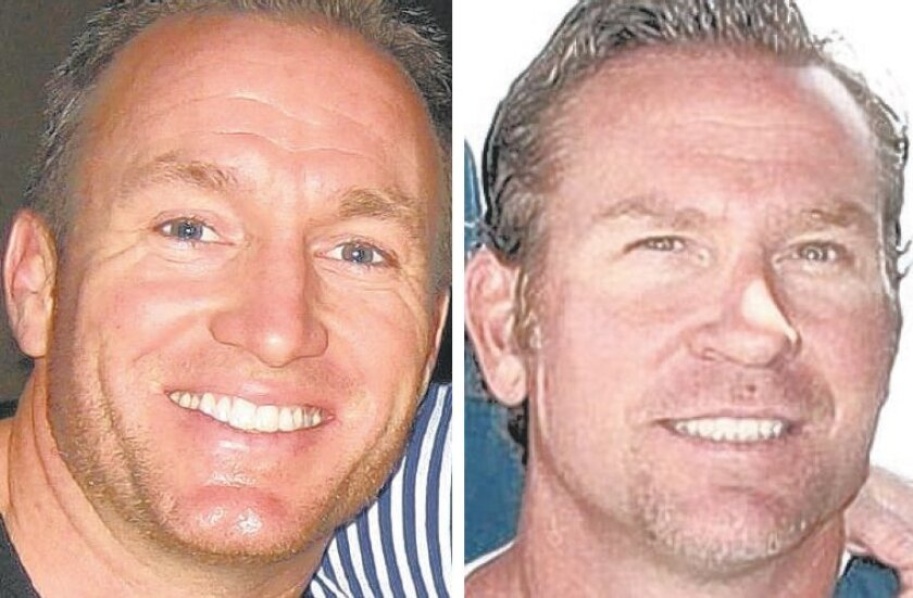 Ex-Navy SEALs Glen Doherty (L) and Tyrone Woods (R) were killed when the U.S. diplomatic compound in Benghazi, Libya, was attacked.