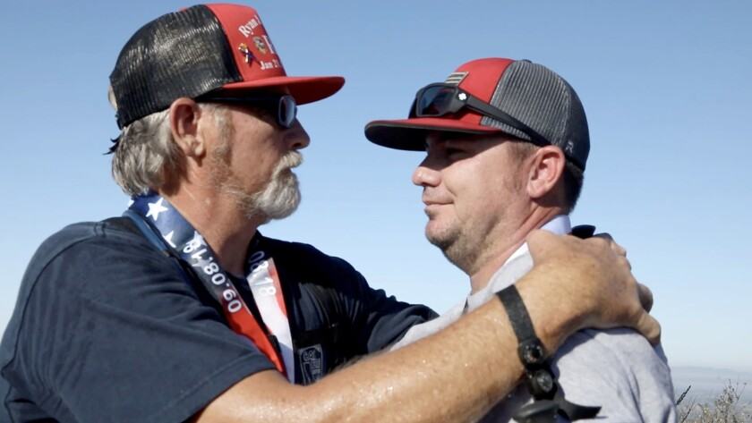 Will Mitchell, father of Capt. Ryan Mitchell, a San Diego-based Cal Fire fighter who committed suici