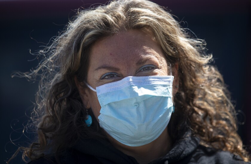 With so many other daily challenges homeless people have to deal with, Dr. Susan Partovi said, the seriousness of an invisible threat like the coronavirus hasn't sunk in yet with some of those living in tents.