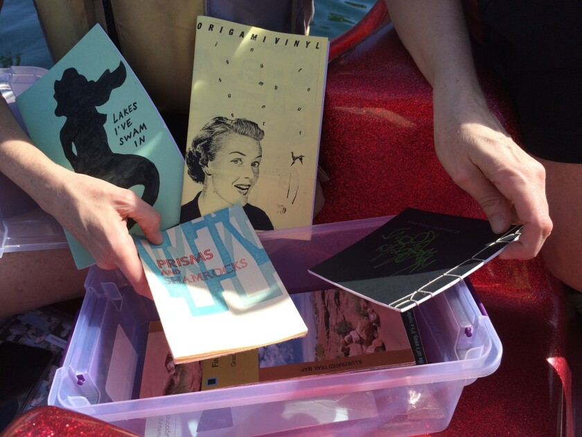 Floating Library reading