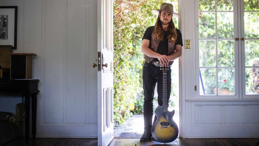 SANTA MONICA, CA - APRIL 19, 2018: Lukas Nelson and his band, The Promise of the Real, have been Ne