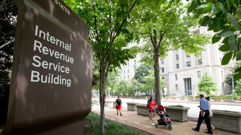 The Internal Revenue Service Building in Washington.