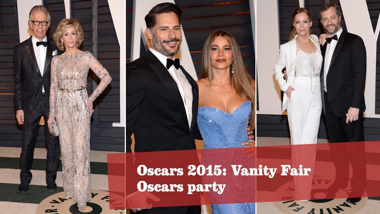 Oscars 2015: Vanity Fair party