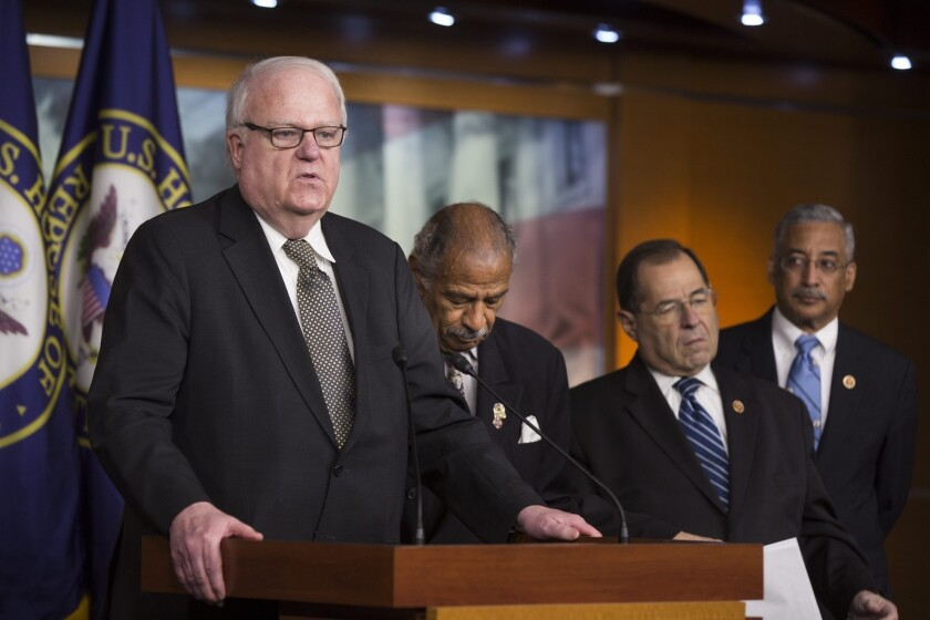 Rep. Jim Sensenbrenner (R-Wis.), who sponsored the 2001 legislation to expand NSA surveillance after the Sept. 11 attacks, helped galvanize House support for the new bill to curb the agency's domestic activities.