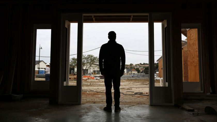 Harland Brewing Co. CEO Josh Landan stands in a tasting room that is being built at the One Paseo development in Del Mar on Dec. 10, 2018.
