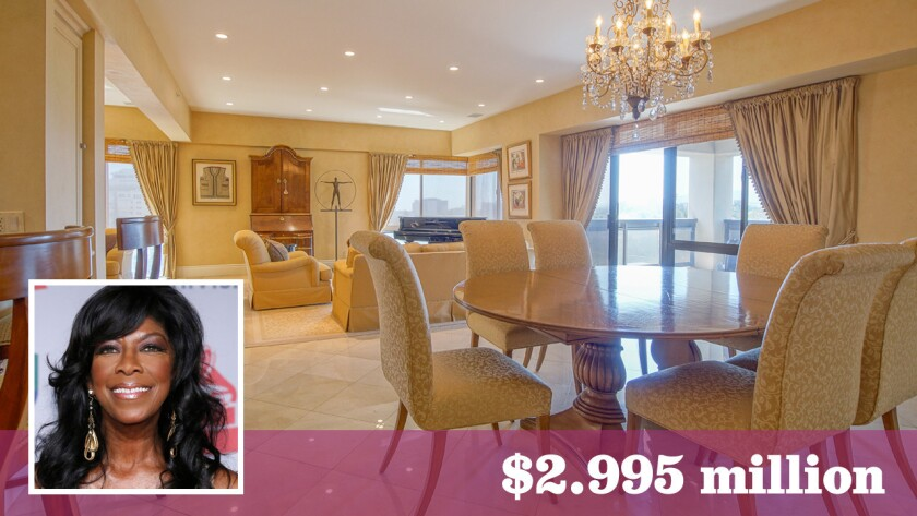 Late singer Natalie Cole made her home in a Westwood condominium that is now up for sale at $2.995 million.