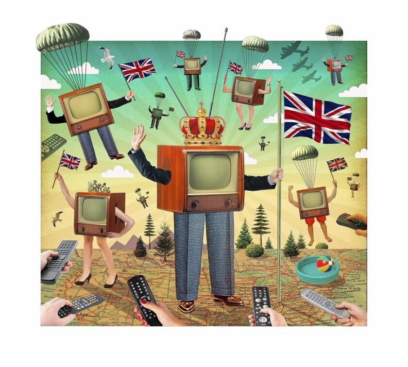 It's a British invasion on U.S. TV this summer.