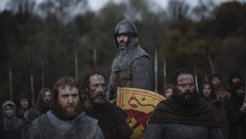 """Chris Pine in the movie """"Outlaw King."""""""