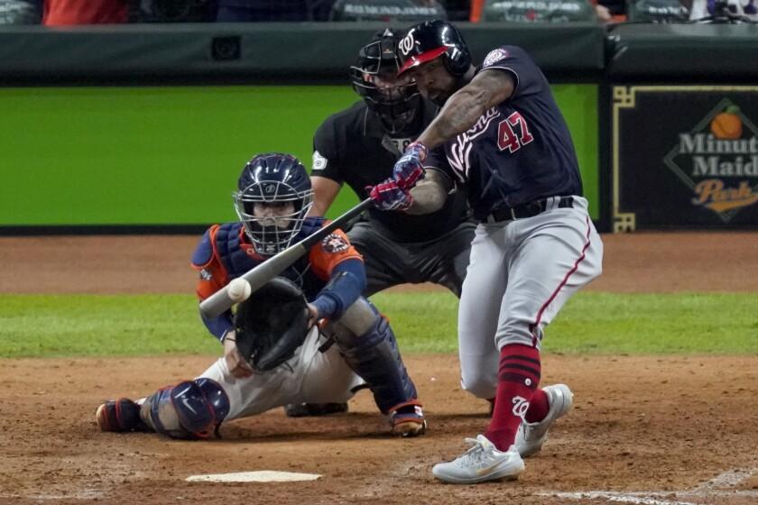 Nationals Kendrick Baseball