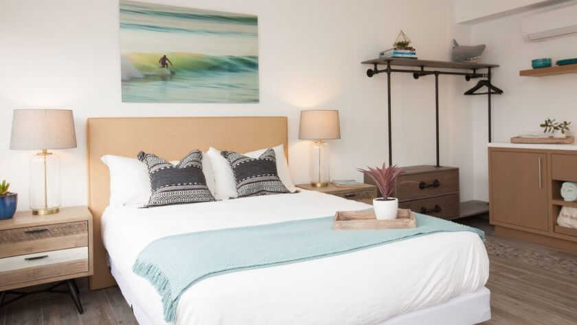 Rooms at Surfhouse are named after local surf spots.