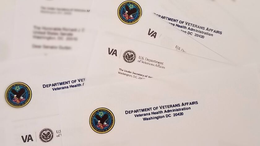 The VA is examining 1,200 different letters it sends for possible rewriting.
