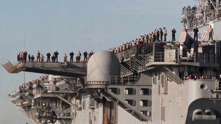 USS America homecoming
