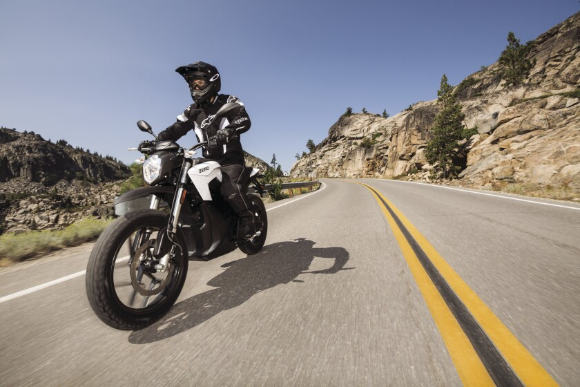 Zero Motorcycles' 2015 line-up includes substantial braking and suspension improvement to the FX, S, SR and DS models, like the one pictured here.