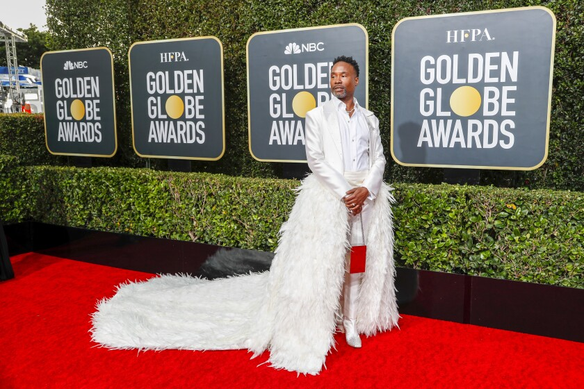 Billy Porter at the 2020 Golden Globes