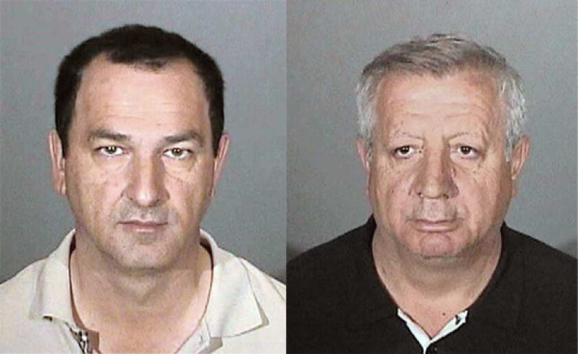 Men arrested in electricity, water theft - Los Angeles Times