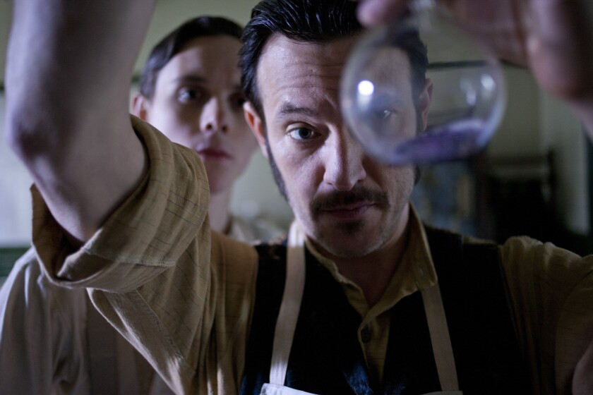 """""""Ripper Street,"""" with Jonathan Barnwell, left, and Adam Rothenberg, was a self-prescribed RX."""