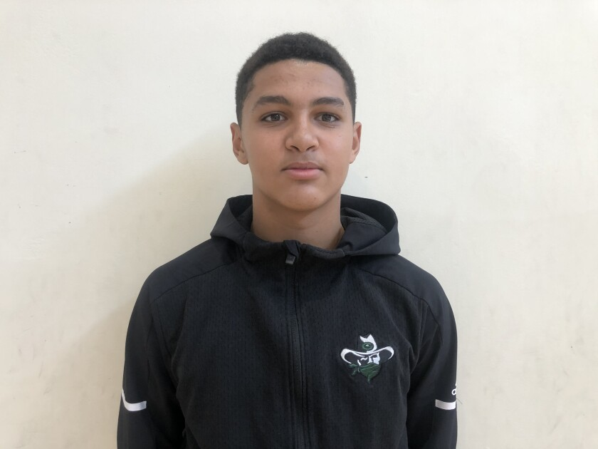 Freshman Marcus Adams contributed three threes in Narbonne's 50-48 semifinal win over Granada Hills.