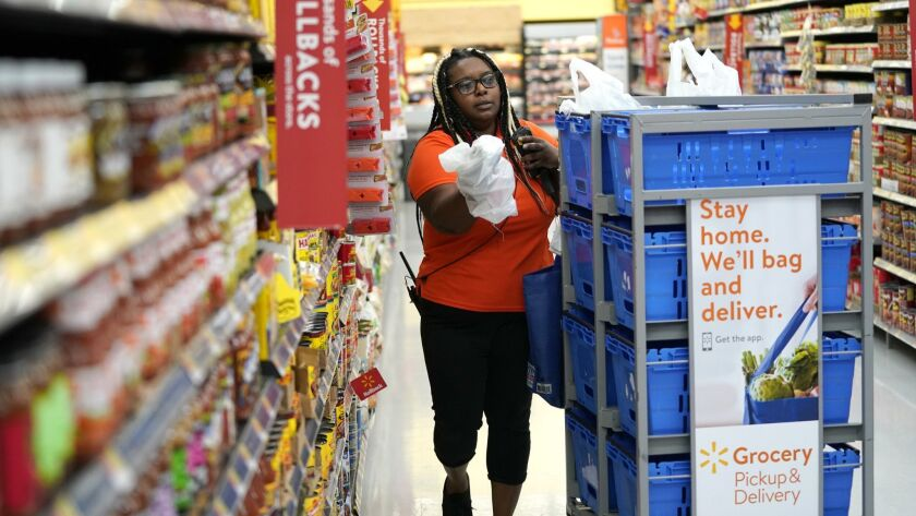 Alicia Carter, Online Grocery