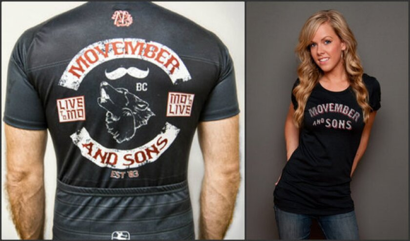 Movember merchandise: State of the 'stache