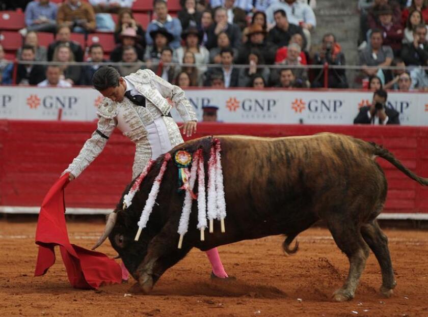En la imagen, el torero méxicano Diego Silveti. EFE/Archivo