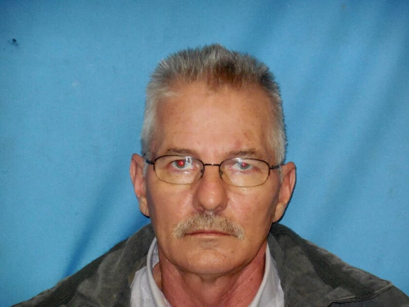 This booking photo provided by the Lonoke County Sheriff's Office shows David Houser. Houser, the Arkansas police officer who said he was shot during a traffic stop, was arrested Tuesday, Nov. 3, 2015, after authorities say the incident never happened. (Lonoke County Sheriff's Office via AP)